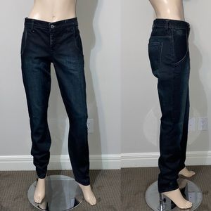 Helmut Lang High Rise Straight Jean 30